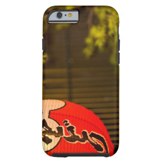 Red painted paper lantern and tree, Kyoto, Tough iPhone 6 Case