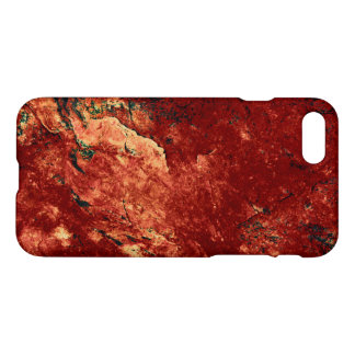 Red Painted Rock iPhone 7 Case