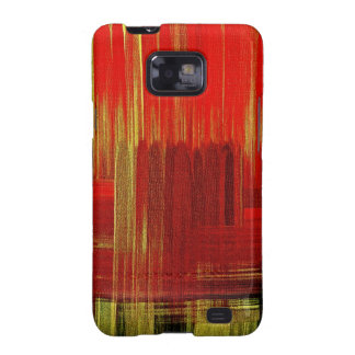 Red painting art - Sam Sung Galaxy Case Samsung Galaxy S Case