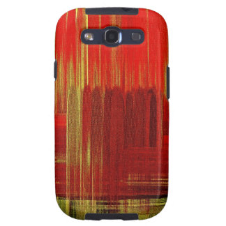 Red painting art - Sam Sung Galaxy Case Galaxy S3 Case