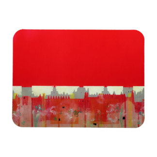Red Painting Magnet