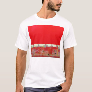 Red Painting T-Shirt