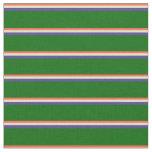 [ Thumbnail: Red, Pale Goldenrod, Dark Slate Blue & Dark Green Fabric ]