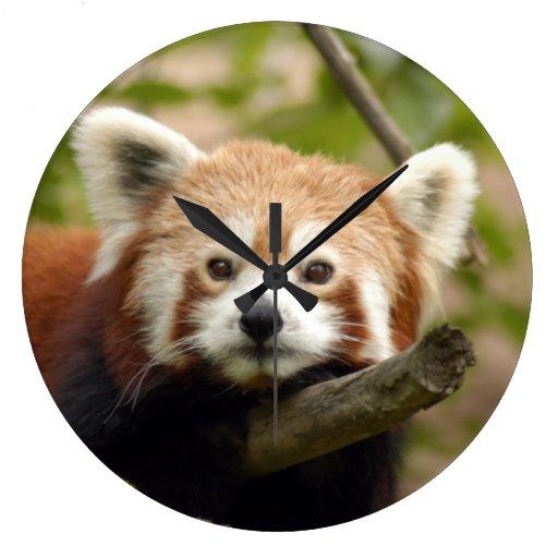 red-panda-005 clock