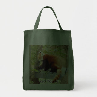Red Panda-028 Red Panda Tote Bag