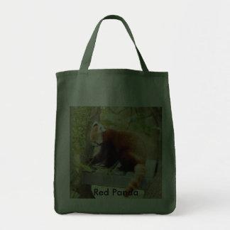 Red Panda-028, Red Panda Tote Bag