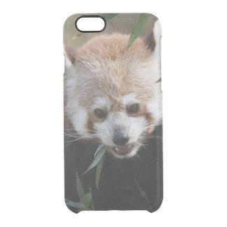 Red_Panda_2015_0311 Clear iPhone 6/6S Case