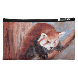 Red Panda aceo Cosmetic Bags