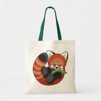 Red Panda Budget Tote Bag