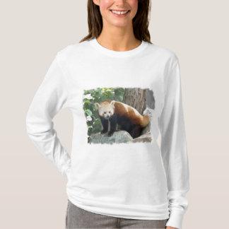 Red Panda Bear Long Sleeve T-Shirt