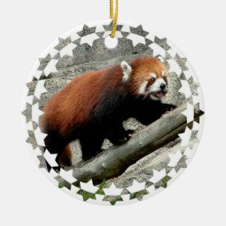 Red Panda Bear Ornament
