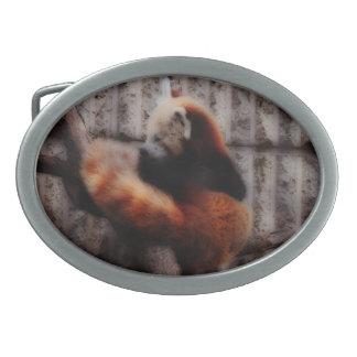 Red Panda Belt Buckle