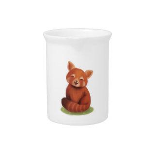 Red Panda Beverage Pitcher