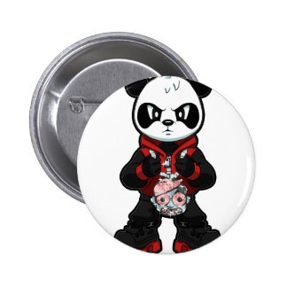 Red Panda Buttons