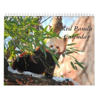 Red Panda Calendar