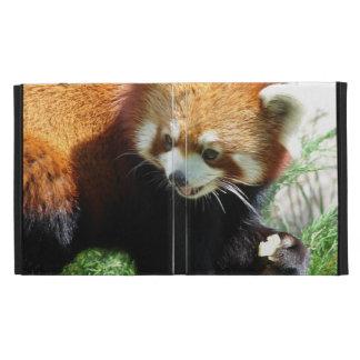Red Panda iPad Folio Covers