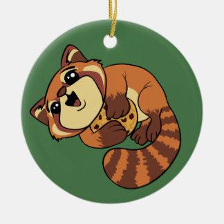 Red Panda! Ceramic Ornament
