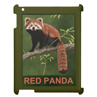 Red Panda Cover For The iPad