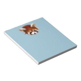 Red Panda Design Note Pad