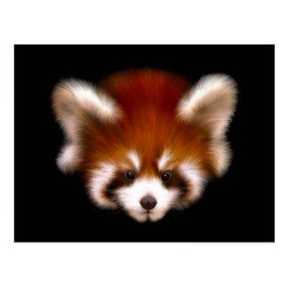 Red Panda Design Postcard
