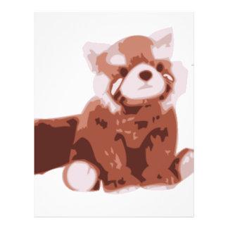 Red Panda Custom Flyer