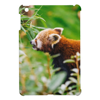 Red Panda In A Green Environment Case For The iPad Mini