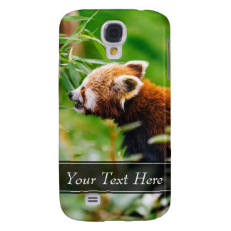 Red Panda In A Green Environment Samsung Galaxy S4 Case