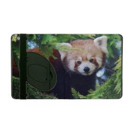 Red Panda iPad Folio Case