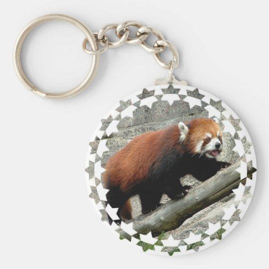 Red Panda Keychain