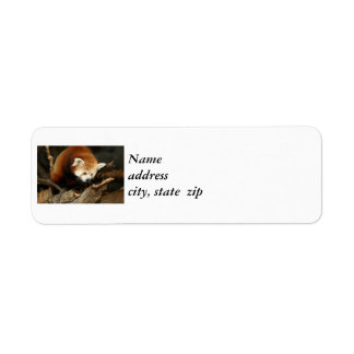 Red Panda Label