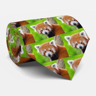 Red Panda Neck Tie