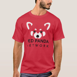 Red Panda Network Tee Red