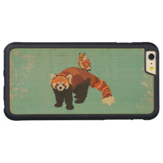 Red Panda & Owl Carved iPhone Case Carved® Maple iPhone 6 Plus Bumper