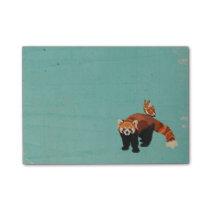 Red Panda & Owl Post It Note