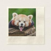 Red Panda Paper Napkin