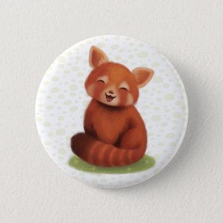 Red Panda Pinback Button
