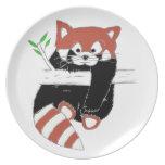 Red Panda Plates :)