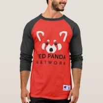 Red Panda Red Baseball T T-Shirt