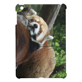 Red Panda Sleeping iPad Mini Cases