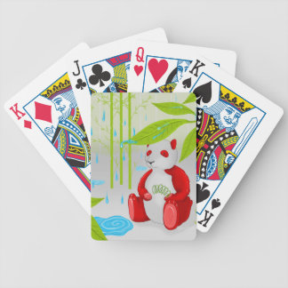Red Panda Slinky Bicycle Playing Cards