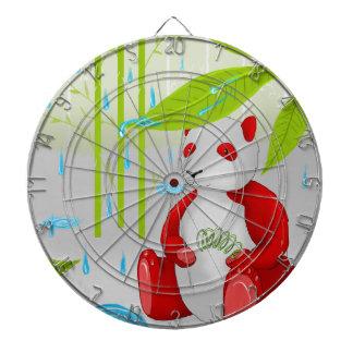 Red Panda Slinky Dart Board