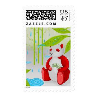 Red Panda Slinky Postage