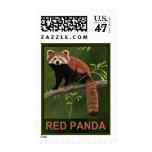 Red Panda Stamp