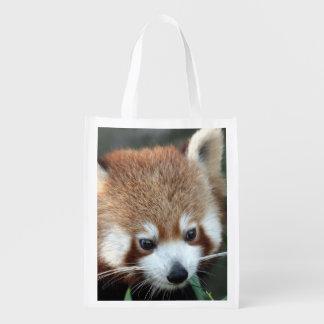 Red Panda, Taronga Zoo, Sydney, Australia Reusable Grocery Bags