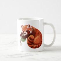 Red Panda Tea Time Coffee Mug