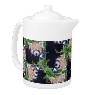 Red Panda Teapot