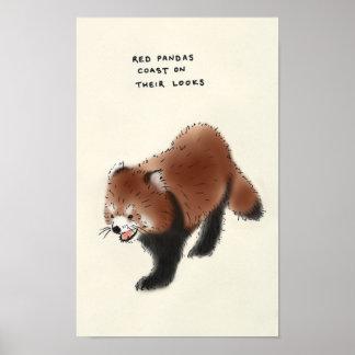 red panda trivia print