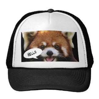 Red Panda Trucker Hat