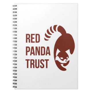Red Panda Trust Supporter Products Notebook
