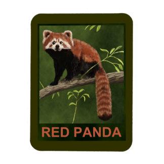 Red Panda Vinyl Magnets